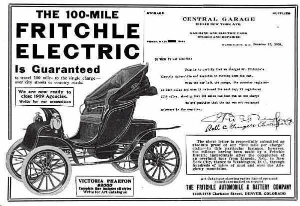 William Morrison Inventor Electric Car