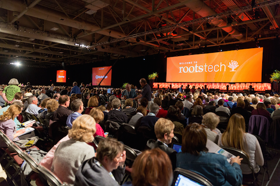 RootsTech Opening Scene