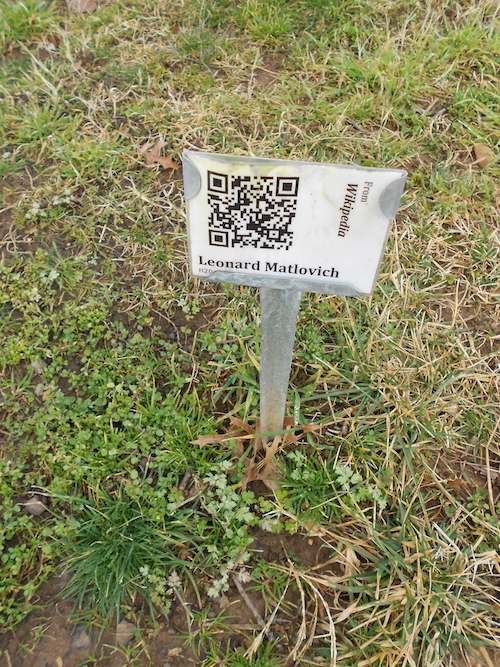 Don't Use QR Codes on Tombstones! | Eastman's Online