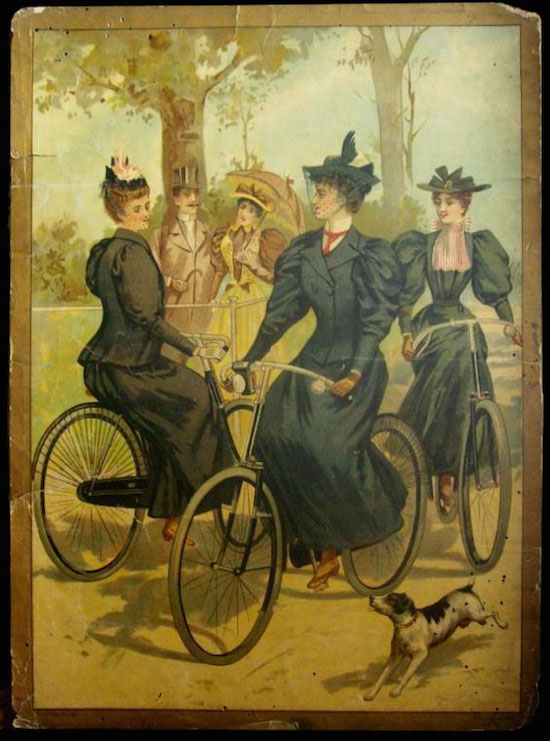 women_vintage_bicycle