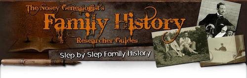 FamilyResearcherHistoryGuides