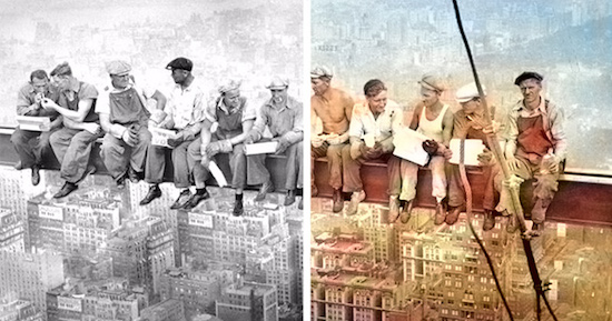Colorize Black And White Photos – Algorithmia