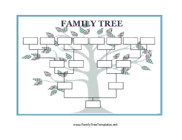 Printable family trees and genealogy charts eastman 39 s for Medical family tree template