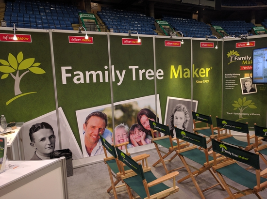 Family Tree Maker is alive, well, and will release a major new upgrade within a few months. I had a chance to talk with the CEO of the new owners, MacKiev, while at the conference and will write about our conversation later.