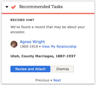 FamilySearch Adds 141 Million Family History Record Hints