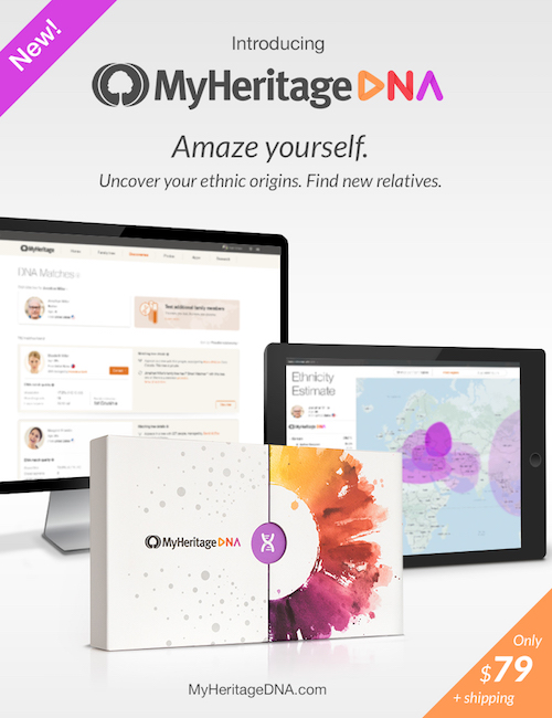 MyHeritage Launches Global DNA Testing Service for Uncovering Ethnic Origins and Making New ...