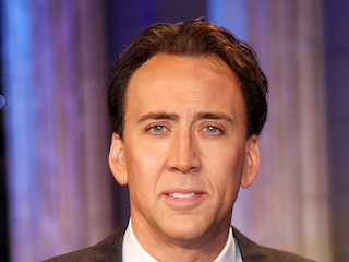 """TOKYO - DECEMBER 06: Actor Nicolas Cage attends the Premiere for a film """"National Treasure"""" at Roppongi Hills on December 6, 2007 in Tokyo, Japan. The film will open on December 21 in world wide. (Photo by Junko Kimura/Getty Images)"""