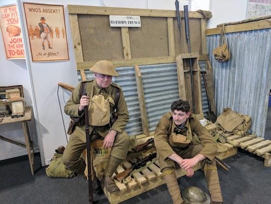 British Army Reenactors