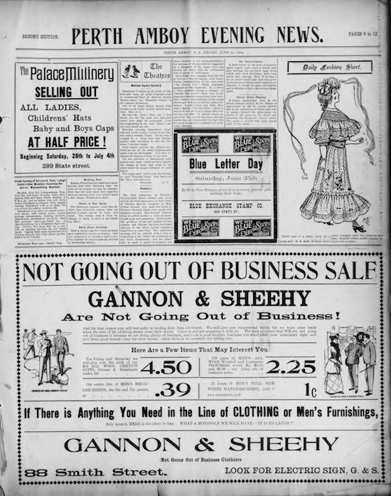 historical issues of perth amboy new jersey news now