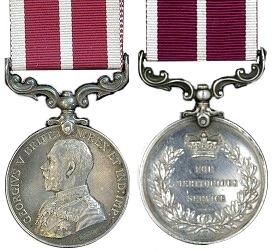 Meritorious Service Medals now available online at TheGenealogist