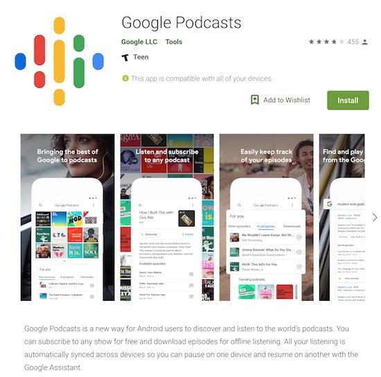 Google Podcasts | Eastman's Online Genealogy Newsletter