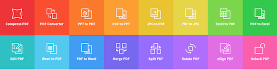 SmallPDF Converts PDF Files to JPG and Other Formats