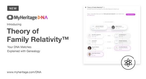 MyHeritage Breakthrough: The Theory of Family Relativity