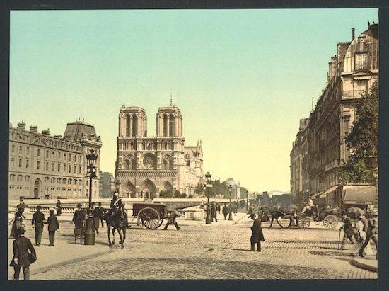 Notre-Dame de Paris - circa 1865