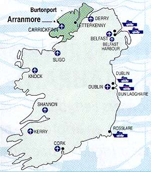 Map Of Ireland Islands.Irish Island Of Arranmore Is Looking For New Residents From The