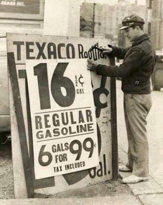Gas Prices in 1939